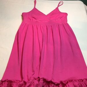 Ladies Large pink Mix & Co. Dress new without tags